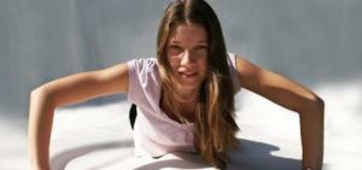 Cvičící žena