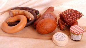 Uzeniny a sýr